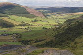 Cwm Penmachno, with slate quarry. — Stock fotografie