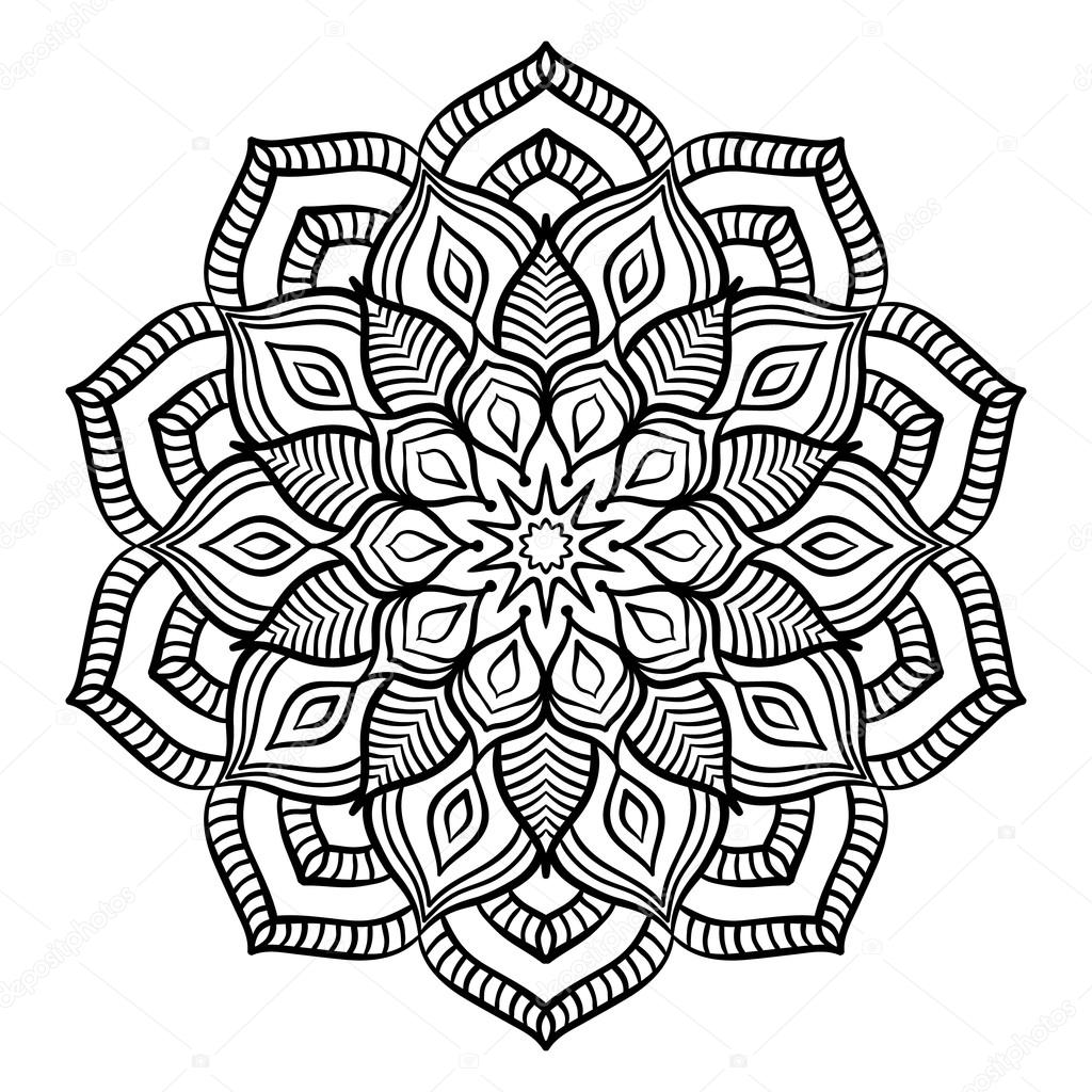 Valentines day mandala coloring pages - Downloaden