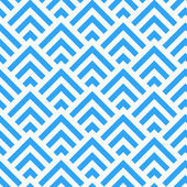 Abstract Blue and White Angle Pattern, vector — Cтоковый вектор