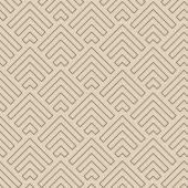 Abstract Line Arrows Pattern, vector — Stock Vector