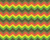 Rasta Zigzag Pattern — Stock Vector