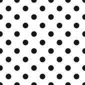 Classic Polka Dot Pattern — Vettoriale Stock