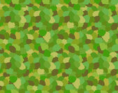 Green Camouflage Military Pattern — Stock Vector