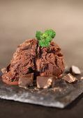 Mantecado chocolate — Foto de Stock