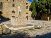Byzantine fountain — Стоковое фото