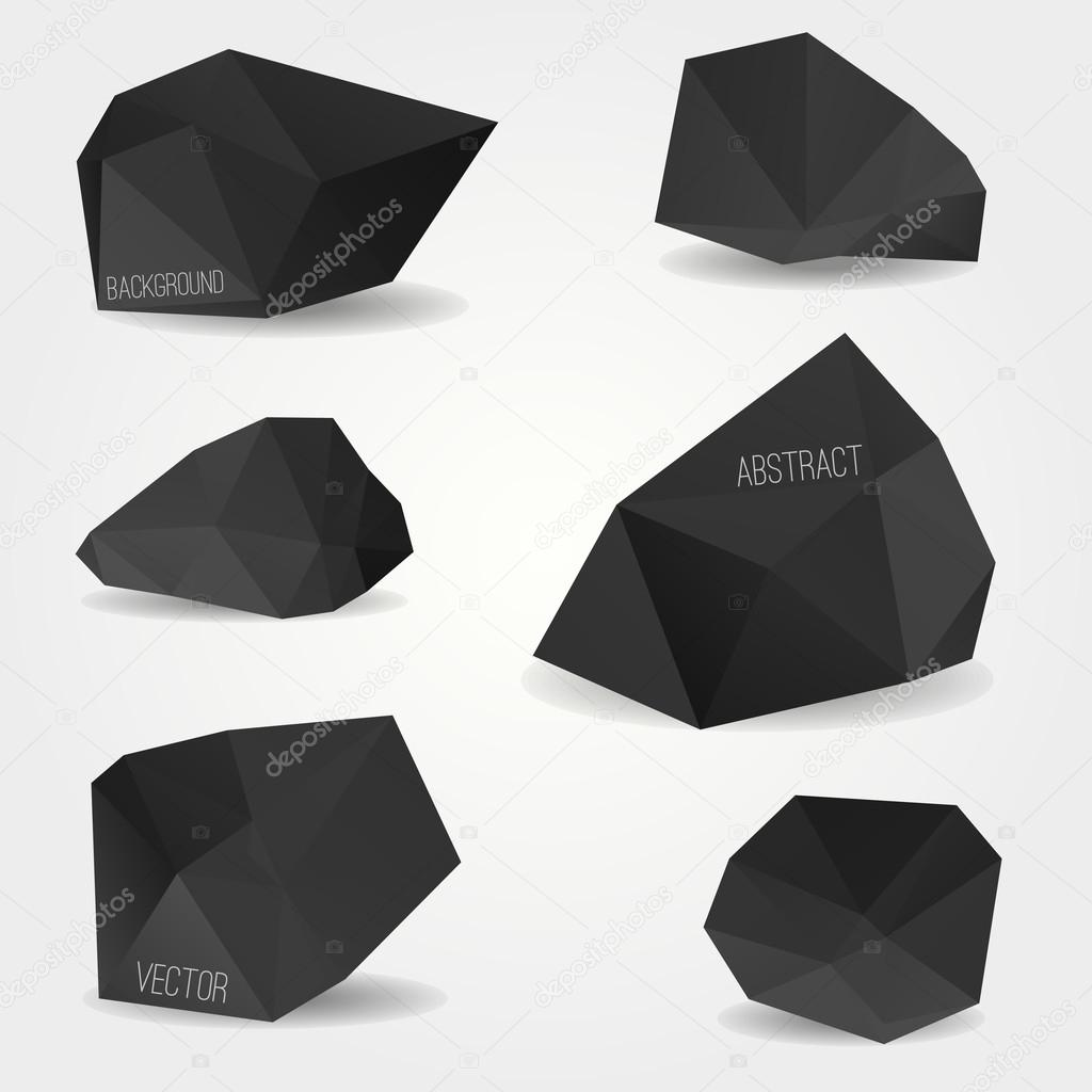 Geometric modern shapes abstract vector Vector | Free Download