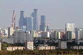 Moscow city panorama — Stock Photo