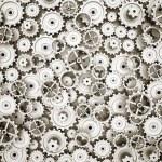 Mechanism of gears and cogwheels — Stock Photo #66850363