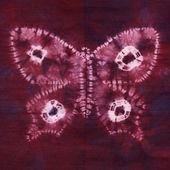 Materiale tinto batik. Shibori — Foto Stock