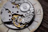 Metal clock works. — Stock Photo