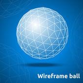 Abstract geometric sphere — 图库矢量图片