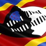 Swaziland flag. — Stock Photo #59467011