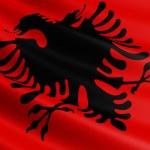 Albania flag. — Stock Photo #59467091