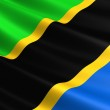 Tanzania flag. — Stock Photo #59467143