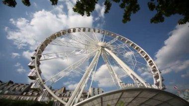 Ferris Wheel in Paris — Stock Video