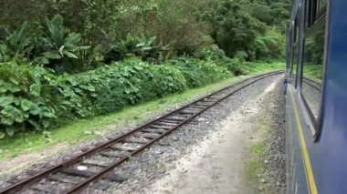 Train ride through Andes — Stockvideo