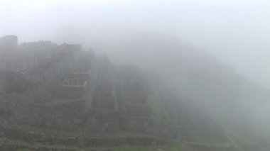 Ancient Inca lost city Machu Picchu — Stock Video