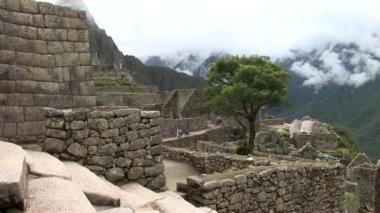 Machu Picchu,  the lost city in Peru — Stock Video