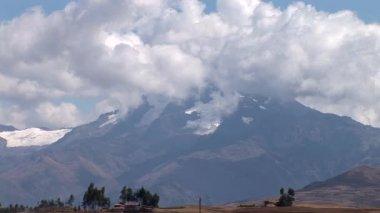 Andes Landscape in Peru — Stock Video