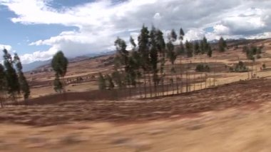 Road through the Andes — Stock Video