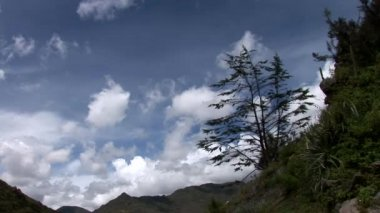 Clouds in Andes near Cusco — Stock Video