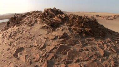 Desert in Peru, Paracas — Stock Video