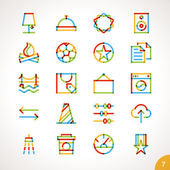 Icons for any purpose — Stock Vector