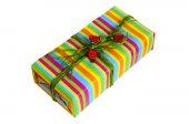 Holiday package. Праздничная упаковка — Stock Photo