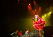 Slipknot concert — Stock Photo