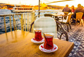 Bosphorus tea — Stock Photo
