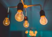 Glühlampen — Stockfoto