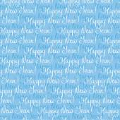 Seamless New Year's pattern — Stock Vector