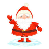 Funny Ded Moroz — Stock Vector
