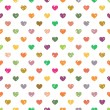 Seamless pattern with hearts — Stock Vector #63489129