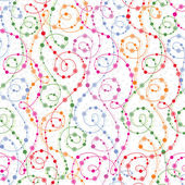 Seamless pattern with curls — Stock Vector