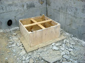 Foundation of a House — Stock Photo