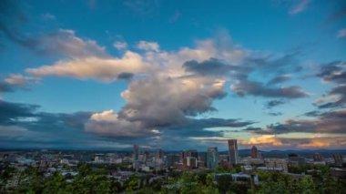 Portland City, Oregon, USA — Stock Video