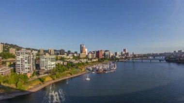 Portland City, Oregon, USA — Vídeo stock