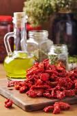 Rodajas de tomate seco — Foto de Stock