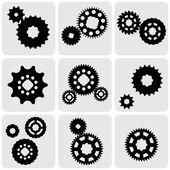 Image of gears. — Stock Vector