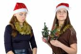 Photo of inequity in Christmas day — Stockfoto