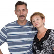 Photo of the happy old man and woman — Stock Photo #57709401