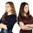 Photo of two serious women — Foto de Stock   #58038279