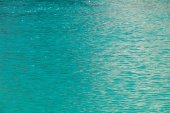Image light blue clean water in lake — Stock Photo