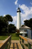 St. Simon's Georgia Lighthouse — Stock Photo