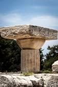 Ruin Asclepium Temple in Kos Greece — Stock Photo
