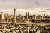 Columns of Agora in Archaic Perge. — Stock Photo