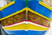 马尔萨什洛克船马耳他 — 图库照片
