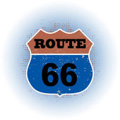Route 66 stamp — Stock vektor
