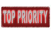 Top priority — Stockvektor